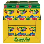 Crayola® Original Crayon Set Display Assortment; Color: Multi; Format: Stick; (model 52-2448D), price per each