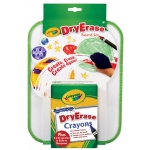 Crayola® Dry-Erase Bold Color Board Set; Type: Children's Art Kit, Dry Erase; (model 98-8635), price per set