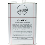 Gamblin Gamsol Oil 128oz; Size: 128 oz; Type: Solvents; (model G00099), price per each