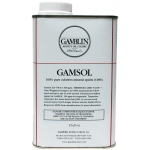 Gamblin Gamsol Oil 16oz; Size: 16 oz; Type: Solvents; (model G00090), price per each