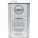 Gamblin Gamsol Oil 32oz; Size: 32 oz; Type: Solvents; (model G00092), price per each