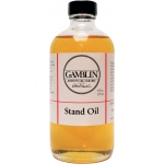 Gamblin Linseed Stand Oil 8oz; Size: 8 oz; Type: Linseed Oil; (model G08008), price per each