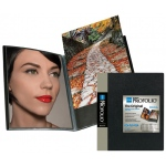 "Itoya® Art Profolio® ""The Original"" Presentation Books 8.5"" x 11"" 48 page: Black/Gray, Polypropylene, 48 Pages, 8 1/2"" x 11"", (model IA12848), price per each"