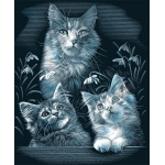"Reeves™ Scraperfoil™ Scraperfoil Kittens; Color: Metallic; Size: 8"" x 10""; (model PPSF25), price per each"