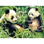 "Reeves™ Large Acrylic Painting By Numbers Set Panda; Size: 12"" x 15 1/2""; (model PL88), price per each"