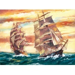 "Reeves™ Large Acrylic Painting By Numbers Set Sailing Ships; Size: 12"" x 15 1/2""; (model PL53), price per each"