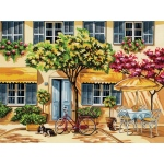 "Reeves™ Large Acrylic Painting By Numbers Set Al Fresco; Size: 12"" x 15 1/2""; (model PL62), price per each"