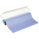 "Saral Wax-Free Transfer Paper: Blue, 12"" x 12' Roll"