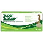 Sculpey® SuperSculpey® Clay; Color: Brown, Red/Pink; Format: Bar; Size: 1 lb; (model SS1), price per each