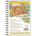 "Strathmore® 5.5"" x 8"" Vellum Wire Bound Bristol Book: Wire Bound, White/Ivory, Book, 24 Sheets, 5 1/2"" x 8"", Bristol, 100 lb, (model ST460-25), price per each"
