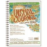 "Strathmore Visual Journal Wire Bound Bristol Book: 9"" x 12"", Smooth, 56 Pages"