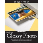 "Strathmore® 8.5"" x 11"" Glossy Inkjet Paper; Color: White/Ivory; Quantity: 15 Sheets; Size: 8 1/2"" x 11""; Type: Gloss; (model ST59-632), price per 15 Sheets"