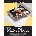"Strathmore® 8.5"" x 11"" Matte Inkjet Paper; Color: White/Ivory; Quantity: 15 Sheets; Size: 8 1/2"" x 11""; Type: Matte; (model ST59-635), price per 15 Sheets"