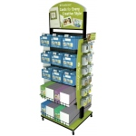 Strathmore 200 Series Card Merchandisers and Accessories: 2-Sided Empty Spinner Display