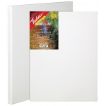 "Fredrix® Artist Series Red Label 18 x 24 Stretched Canvas; Color: White/Ivory; Format: Sheet; Size: 18"" x 24""; Stretcher Strips: 11/16"" x 1 9/16""; Type: Stretched; (model T5023), price per each"