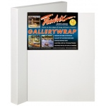 "Fredrix® Gallerywrap™ 24"" x 30"" Stretched Canvas; Color: White/Ivory; Format: Sheet; Size: 24"" x 30""; Stretcher Strips: 1 3/8"" x 1 3/8""; Type: Stretched; (model T5088), price per each"