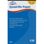"Alvin® Quadrille Paper 4x4 Grid 50-Sheet Pad 11"" x 17""; Format: Pad; Grid Size/Pattern: 4"" x 4""; Quantity: 50 Sheets; Size: 11"" x 17""; Weight: 20 lb; (model 1432-6), price per 50 Sheets pad"