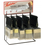 Fredrix® Gesso Brush Assortment; Size: Multi; Type: Gesso; (model T7106), price per each
