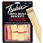 Fredrix Cross-Brace Bracket: 4-Pack