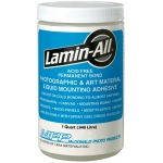 Fredrix® Lamin-All® Adhesive Quart; Size: 1 qt; Strength: Permanent; (model T95001), price per each