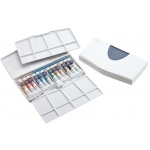 Winsor & Newton™ Cotman™ Watercolor Painting Plus 12-Color Tube Set; Color: Multi; Format: Tube; Size: 8 ml; Type: Watercolor; (model 0390377), price per set