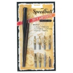 Speedball® ; Pen Holder: Yes; Type: Calligraphy; (model H2962), price per set