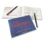 Manuscript Calligraphy Instruction Manual; Format: Book; Type: Calligraphy; (model MC386B), price per each