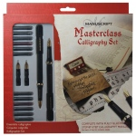 Manuscript Masterclass Calligraphy Set; Color: Multi; Ink Type: Fountain; Tip Size: B-Style; Tip Type: Medium Nib; (model MC146), price per set