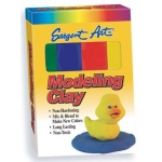 Sargent Art® Non-Hardening Modeling Clay Primary 4-Pack; Color: Multi; Quantity: 4-Pack; (model 224400), price per 4-Pack
