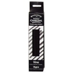 Winsor & Newton™ Artists' Vine Charcoal Extra Soft Set; Color: Black/Gray; Degree: Extra Soft; Format: Stick; Type: Vine; (model 7005160), price per box