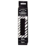 Winsor & Newton™ Artists' Vine Charcoal Extra Soft Set; Color: Black/Gray; Degree: Extra Soft; Format: Stick; Type: Vine; (model 7005164), price per box