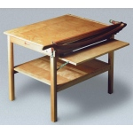 Ingento ClassicCut Maple Series Trimmer: Table Mounted Cutter with Guard Rail, 30""