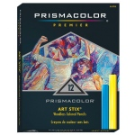 Prismacolor® Art Stix® 12-Color Set: Multi, Stick, Soft, (model AS1952), price per set