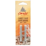 Conte™ Pastel Crayons Gray : Black/Gray, Stick, (model C2358), price per pack