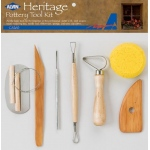 Heritage Arts™ Pottery Tool Kit: Clay Tool, (model CS260), price per set