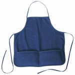 Heritage Arts™ Standard Adult Size Denim Artist Apron; Color: Blue; Material: Denim; Size: Adult; (model DAP2324), price per each
