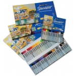 Cray-Pas® Specialist® Oil Pastel 12-Color Set: Multi, Stick, Oil, (model ESP12), price per pack
