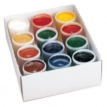 Yarka® Gouache Paint Set; Color: Multi; Format: Jar; Size: 40 ml; Type: Gouache; (model YK38112), price per set