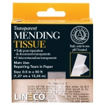"Lineco® Transparent Mending Tape; Type: Mounting; Width: 1/2""; (model L5330017), price per each"