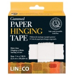 "Lineco® Water-activated Gummed Frame/Hinging Tape; Type: Mounting; Width: 1""; (model L5330751), price per each"