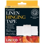 "Lineco® Water-activated Gummed Linen Tape; Type: Mounting; Width: 1""; (model L5331025), price per each"