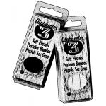 Alphacolor® Char-Kole® Soft Pastels 3-Set: Black/Gray, Stick, Soft, (model QT105C), price per set