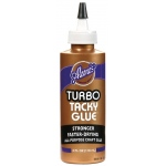 Aleene's® Tacky Glue™ Turbo 4 oz.; Format: Bottle; Size: 4 oz; Type: Tacky; (model D28492), price per each