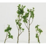 "Wee Scapes™ Architectural Model Foliage Tree Light Green 24-pack: Green, Wire, 24-Pack, 1 1/2"" - 3"", Tree, (model WS00308), price per 24-Pack"