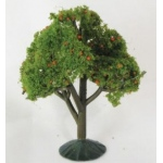 "Wee Scapes Architectural Model Apple Tree: Size 2.25""-2.5"", Pack of 3"