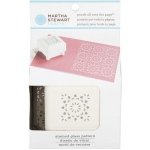 Martha Stewart Crafts™ Pattern Punch All Over The Page™ Magnetic Punch Stained Glass; Type: Pattern; (model 42-91008), price per each