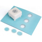 Martha Stewart Crafts™ Punch All Over The Page™ Magnetic Punch Star Burst; Type: Shape; (model 42-90028), price per each