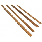 "Midwest Walnut Door Trim Interior 7-Pack; Format: Strip; Ink Type: Walnut; Length: 24""; Quantity: 7 Strips; (model MW3151), price per 7 Strips"