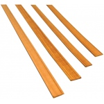 "Midwest Cherry Door Trim Interior 7-Pack; Format: Strip; Length: 24""; Quantity: 7 Strips; Type: Cherry; (model MW3171), price per 7 Strips"
