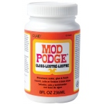 Mod Podge® Original Formula 8 oz. Gloss; Finish: Gloss; Format: Bottle; Size: 8 oz; (model PLCS11201), price per each